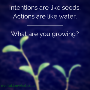 Intentions, Actions & Goals