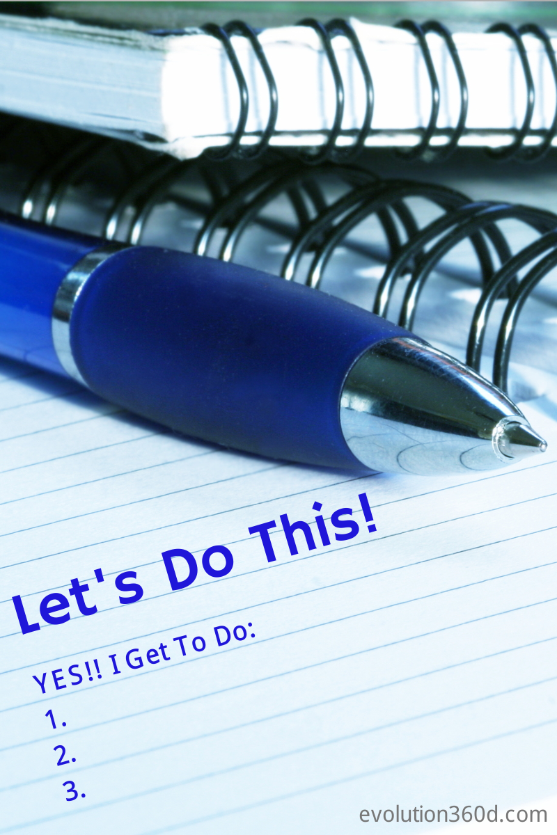Yes! Let's Do This! To-Do List